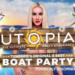 Utopia boat party