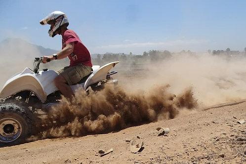 quad adventure dirt off road