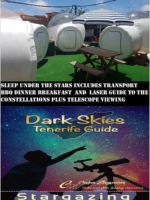 Dark skies pod experience