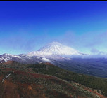 Snow on Mount Teide , but so much to do .
