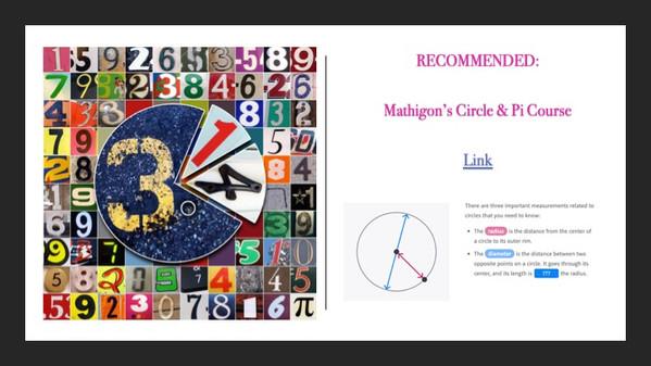 Mathigon - Pi Chapter