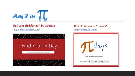 Find your Birthday in Pi