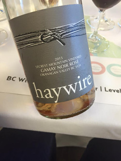 Haywire Gamay Noir Rose