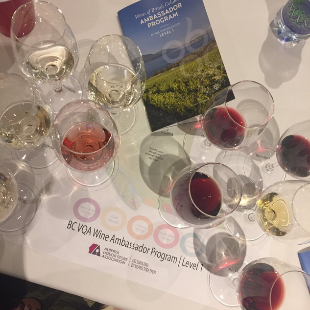 BC Wine Ambassador Course