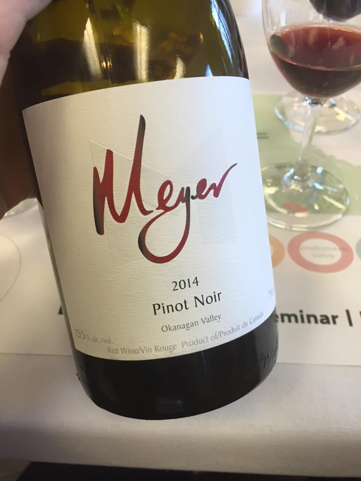 Meyer Family Vineyards Pinot Noir