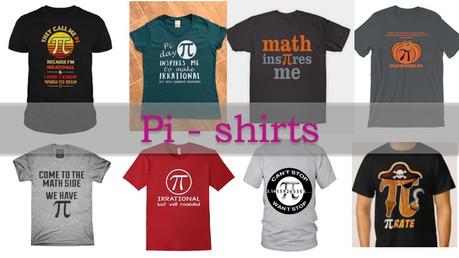 Pi-Tshirts