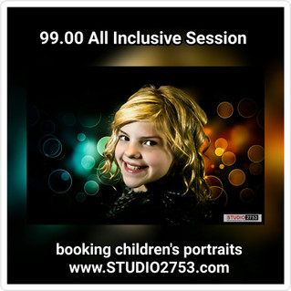 Children's All Inclusive Portrait Session