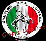 Logo Gruppo Lottatori, lotta libera, lotta grecoromana, grappling, MMA, asrti marziali miste, coach