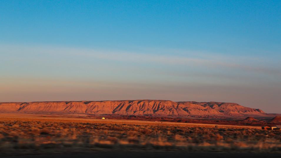 Utah Mesa drone photography