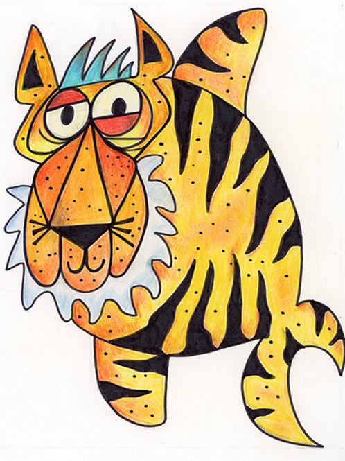 Tiger Fish Cartoon/Illustration