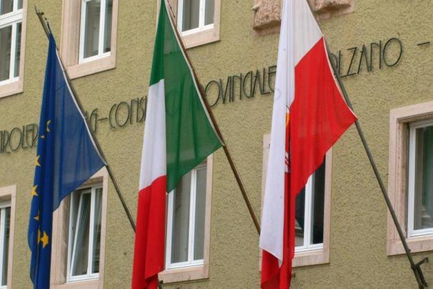 Facade of Italian Public School