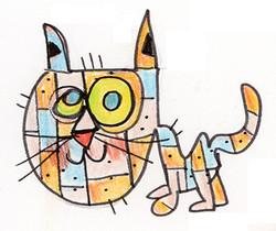 ©lorenzotraverso-coloredcat