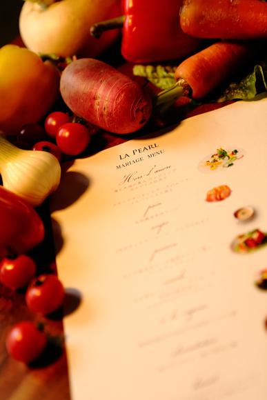 料理がおいしい結婚式