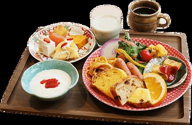 大阪府 心斎橋 朝食 ビュッフェ バイキング 洋食