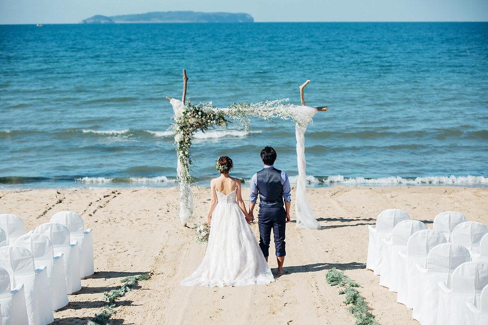 福岡県 海辺の小さな結婚式
