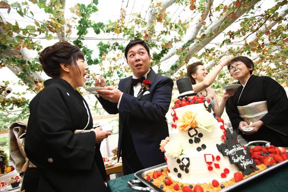 Original Wedding Cake