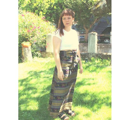 Thai cotton godet skirt
