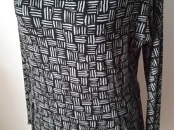 Kimono sleeves...handmade jersey dress