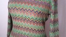 Missoni Style...Chevron dresses