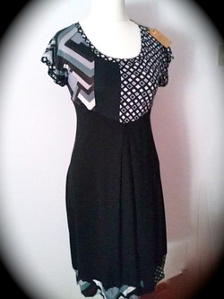every day dress - Chris-almost black