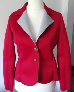 giacca scuba rosso
