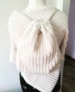 sacchetto pelliccia