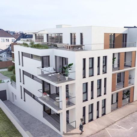 Neubau - Mehrfamilienhaus
