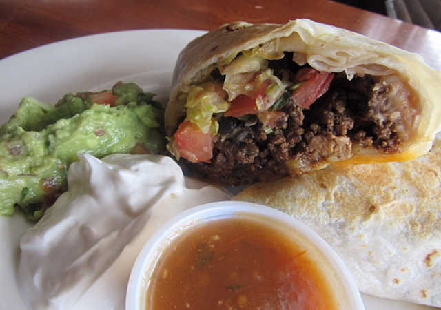 The Gigantic Burrito | Real Time Sports Bar and Grill