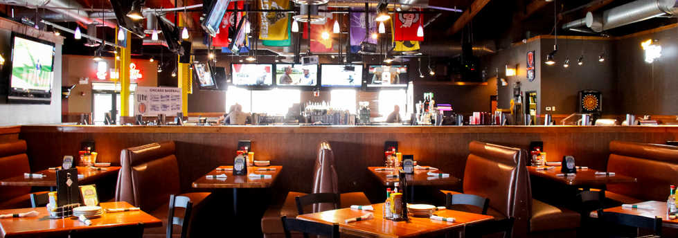 Real Time Sports Bar and Grill Dining Room view 2