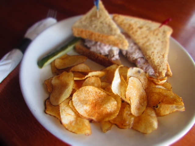 Chicken Salad Sandwich | Real Time Sports Bar and Grill