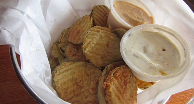 Fried Pickle Chips | Real Time Sports Bar and Grill