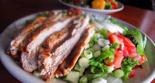 Ty Cobb Salad | Real Time Sports Bar and Grill
