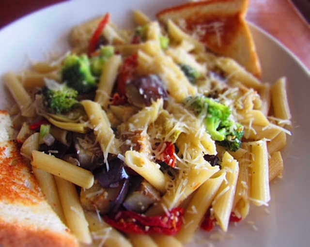Real Time Pasta | Real Time Sports Bar and Grill