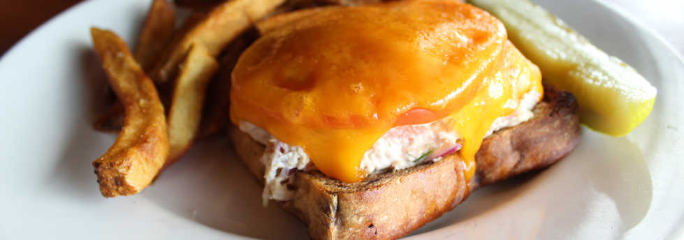 Tuna Melt | Real Time Sports Bar and Grill