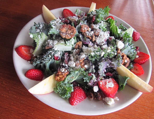 Kale Salad | Real Time Sports Bar and Grill