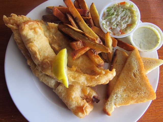 Fish and Chips | Real Time Sports Bar and Grill