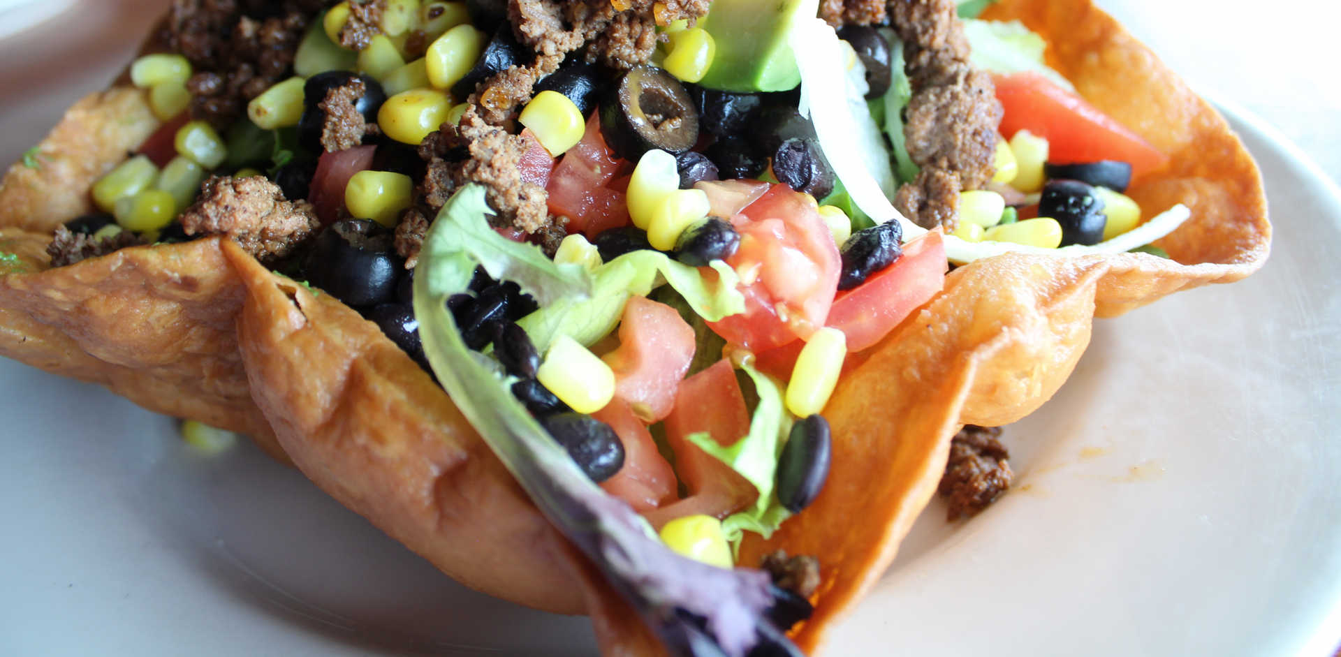 Taco Salad | Real Time Sports Bar and Grill