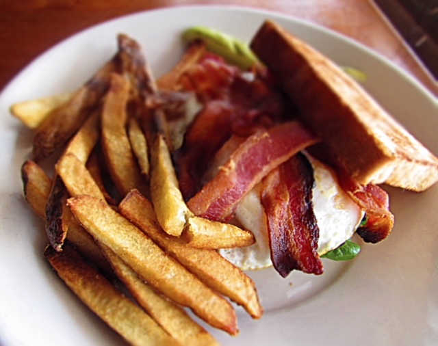 The Amazing Fried Egg BLT | Real Time Sports Bar and Grill