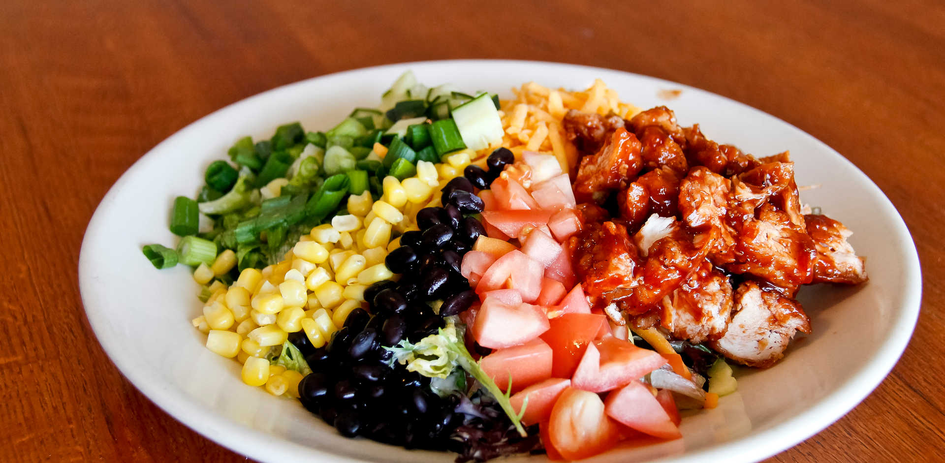 BBQ Ranch Chicken Salad | Real Time Sports Bar and Grill