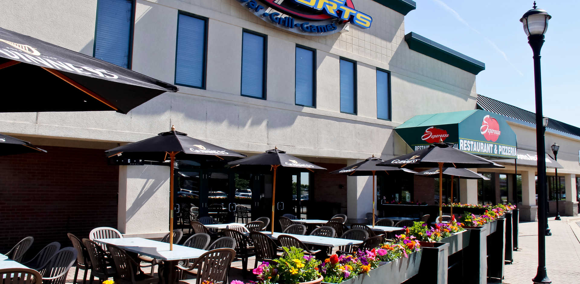 Real Time Sports Bar and Grill Patio