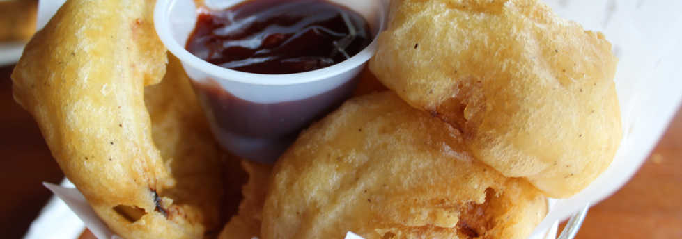Beer Battered Onion Rings | Real Time Sports Bar and Grill