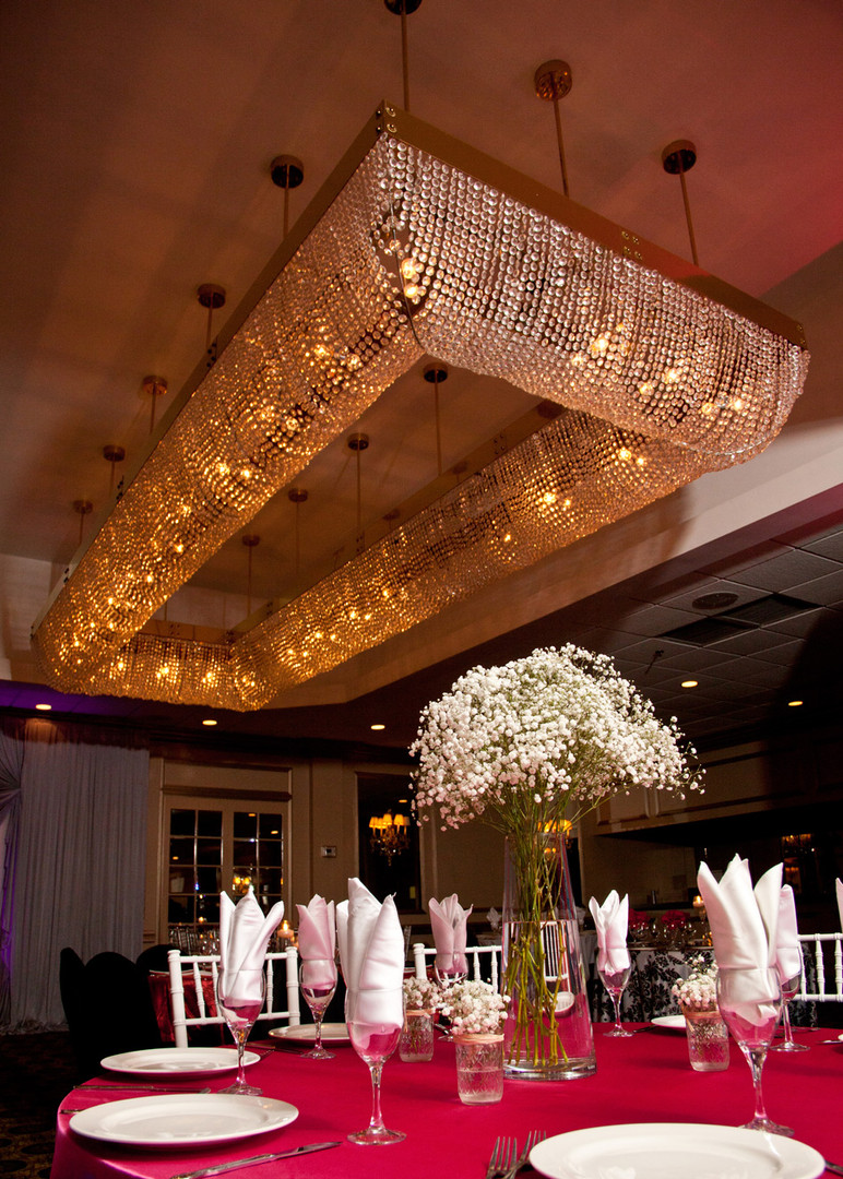 Biagio Ballroom Lighting