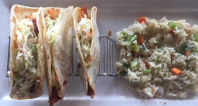 Blackened Fish Tacos | Real Time Sports Bar and Grill
