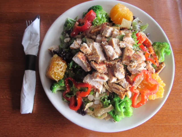 Chinatown Chicken Salad | Real Time Sports Bar and Grill