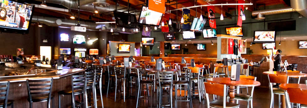 Real Time Sports Bar and Grill Pool Table