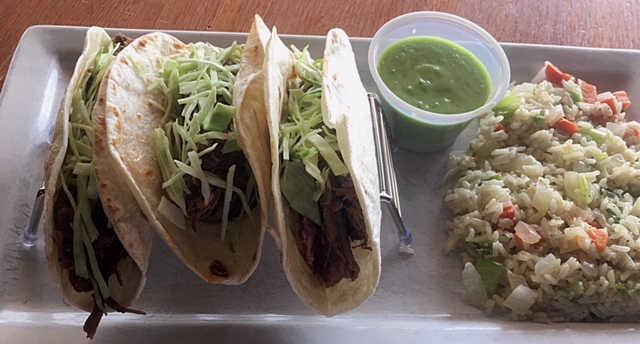 Short Rib Tacos | Real Time Sports Bar and Grill