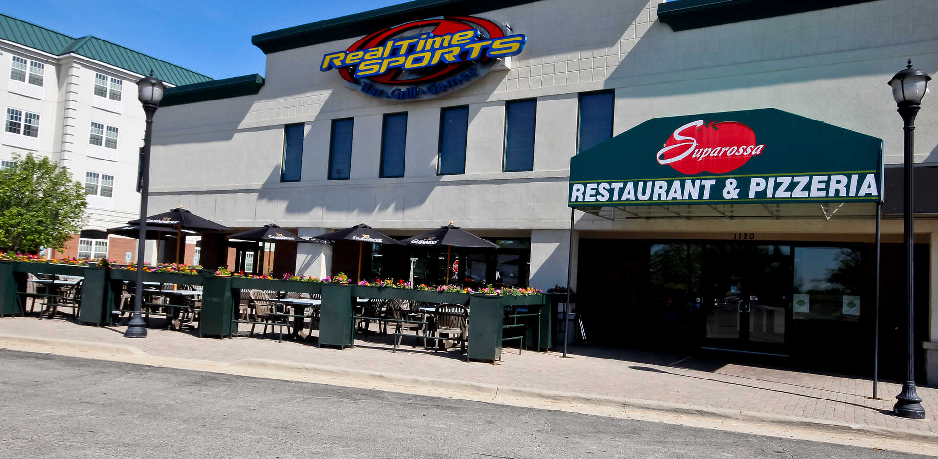 Real Time Sports Bar and Grill Entrance