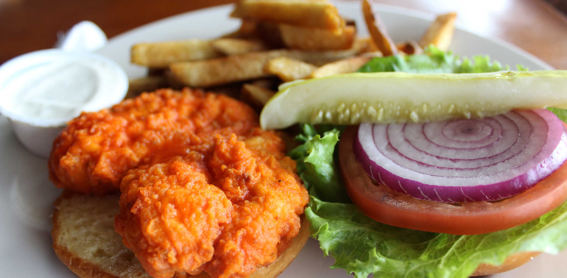 Crispy Buffalo Chicken | Real Time Sports Bar and Grill