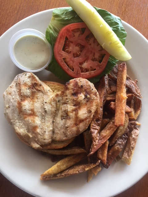 Grilled Chicken Breast | Real Time Sports Bar and Grill