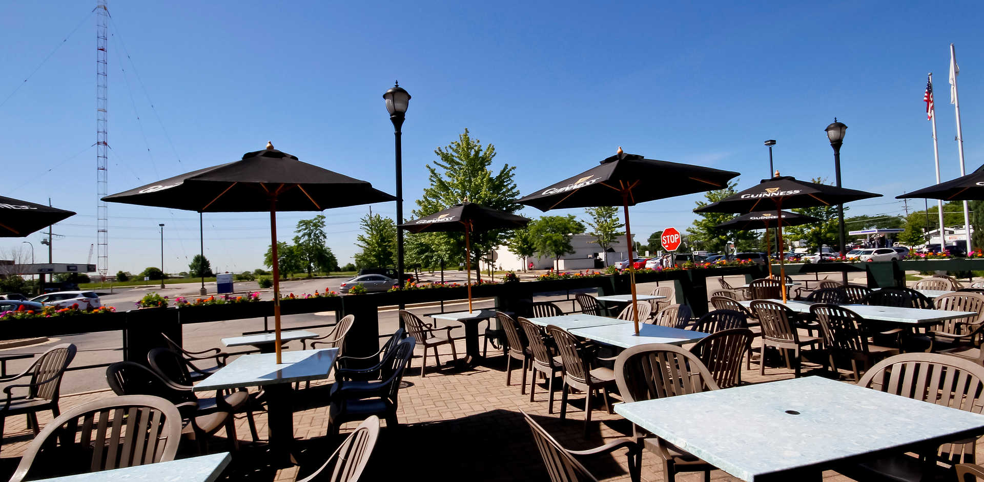 Real Time Sports Bar and Grill Patio view 2